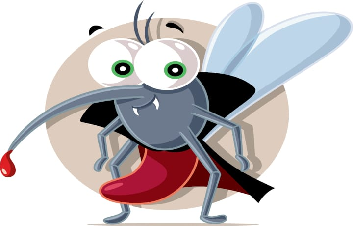 Vampire Mosquito - Protect Yourself From Bloodsuckers This Halloween